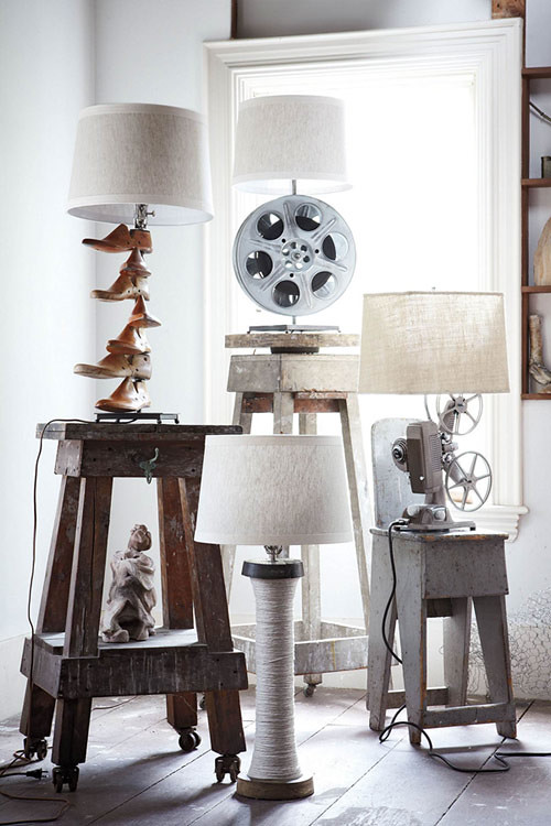 Anthropologie Lamp Bases