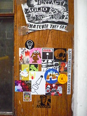 sticker combo in Amsterdam