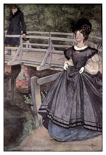 020-La habil astucia de romper un corazon- Miss Fortescue-Brickdale-The old Water-Colour Society-1905-Charles Holme