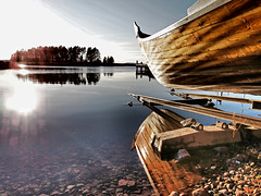 Off we go... (Stavros iLIADIS) Tags: park autumn trees sunset sea sky colour art nature water boats europe view artistic sweden olympus getty 2011 mygearandme mygearandmepremium mygearandmebronze mygearandmesilver mygearandmegold epl2 mygearandmeplatinum