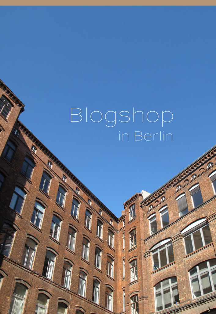 Blogshop Berlin 15.10.2011