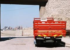Escape (a m o) Tags: trip school b architecture photo garbage fuji village superia egypt uma umeå study cairo 200 pentacon praktica antar b200 fujicolor kairo moqattam misr prakticar zabaleen mukattam sorters