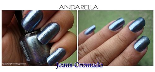Andarella - Jeans Cromado