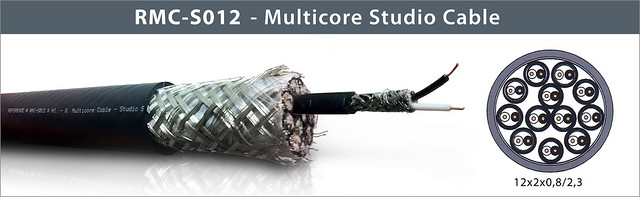 see enlarged RMC-S012 - Multicore Studio Cable