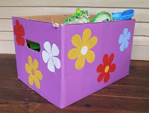 Cardboard Storage Box 1