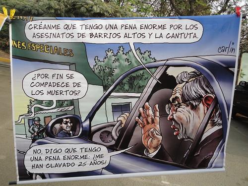 """Fujimori's """"remorse"""" on the Cantuta case"""
