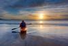 Kayak (benitojuncal) Tags: praia beach surf kayak playa niños galicia tenis juego pontevedra rias lanzada palas sanxenxo baixas