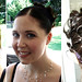 very-short-hair-bridesmaid-updo
