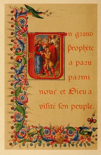 017-Versiculo biblico-Les évangiles des dimanches et fêtes de l'année –Vol 2- 1864- Leon Curmer