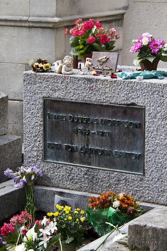 Pere LaChaise Cemetery Jim Morrison