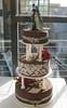 Gothic wedding (Betty´s Sugar Dreams) Tags: wedding cake germany skull bride hamburg gothic betty hochzeit hochzeitstorte totenkopf corpsebride fondant sugarpaste damast corpe motivtorte bettinaschliephakeburchardt bettyssugardreams