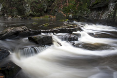 Arnstein, Ontario (ambergoyit) Tags: motion water beautiful moss rocks soft smooth flowing silky secluded