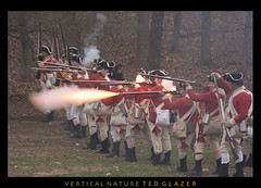 Red Coat Take Aim and Fire (Ted Glazer: Vertical Nature Photography) Tags: history colonial revolution british americanrevolution redcoats patriotsday tedglazer verticalnature
