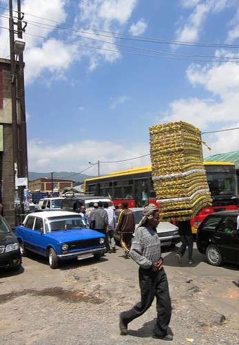 Carrying a LOT of mattresses (Bonus: Peugeot taxi!)