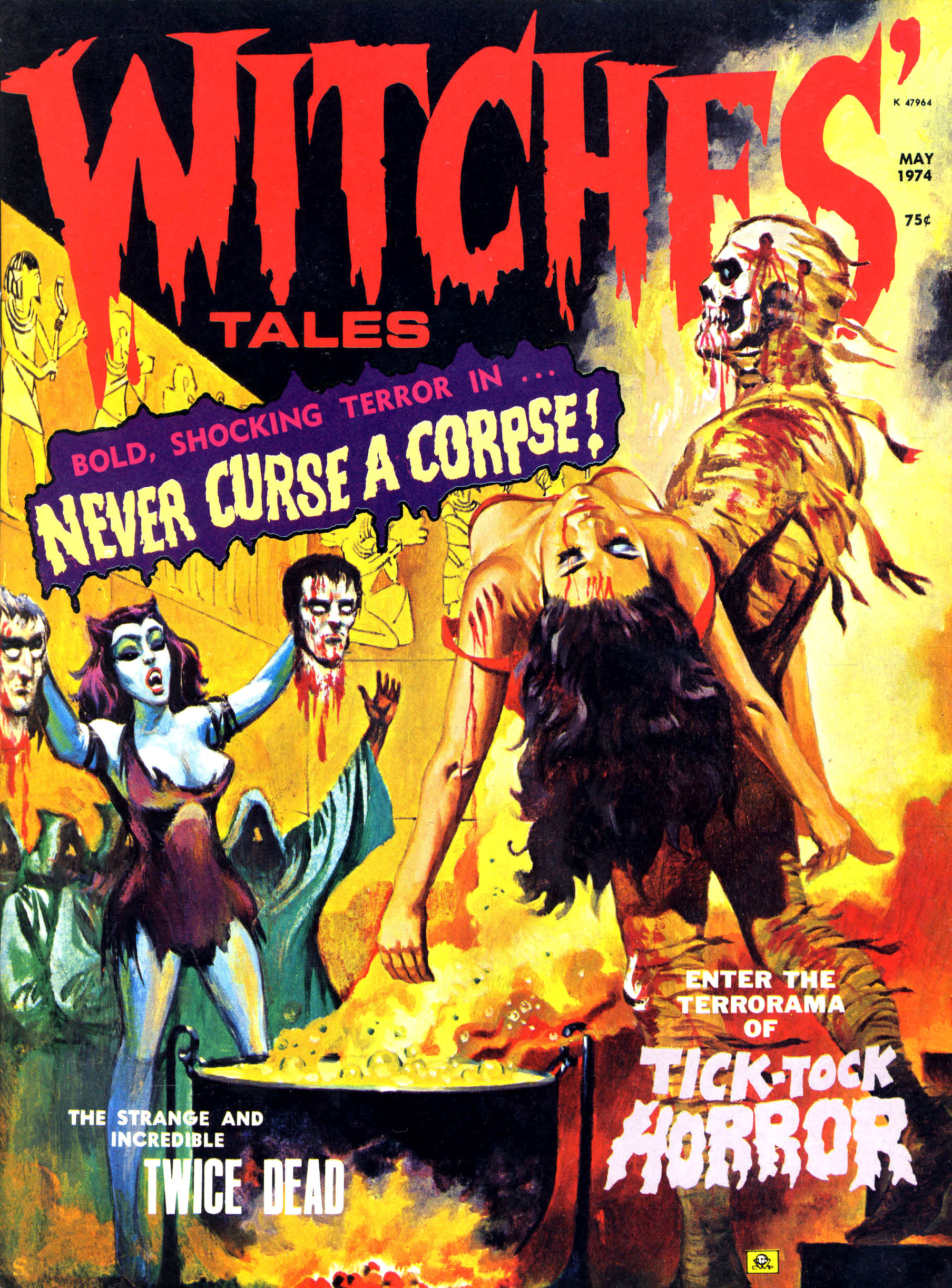 Witches' Tales Vol. 6 #3 (Eerie Publications 1974)