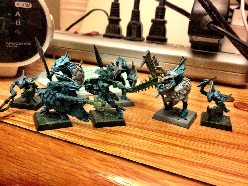 lizardmen - Start of Undead, Lizardmen, and Orcs 6285454954_f861e979ba_b