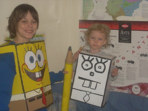 spongebob costumes