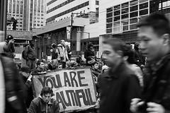 Neglected (trmanco) Tags: street people blackandwhite bw toronto photography nikon downtown protest streetphotography photojournalism documentary downtowntoronto occupy d3100 occupytoronto