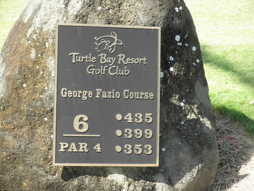 Turtle Bay Colf Course 178
