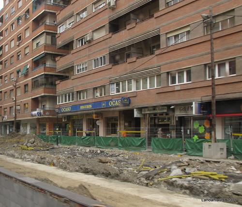 Obras Metro de Granada