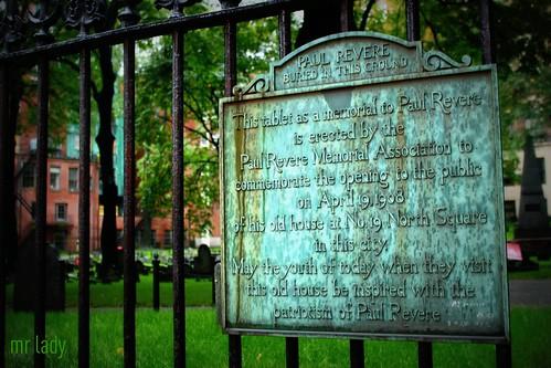Paul Revere's Final Ride