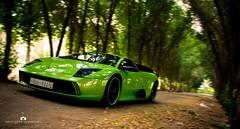 Lamborghini Murcielago (Motion) (Abdulaziz ALKaNDaRi | Photographer) Tags: motion green canon photography eos saudi arabia kuwait lamborghini ef q8 murcielago ksa 2011  abdulaziz     kuw 550d     t2i  alkandari   blinkagain abdulazizalkandari