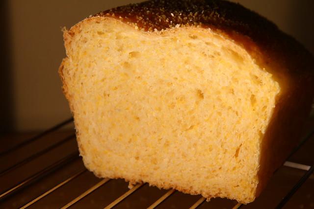 Anadama Bread Crumb