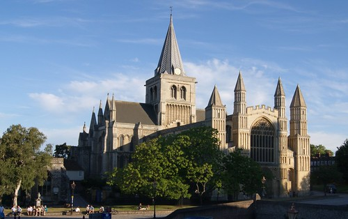 Rochester Cathedral (Not H.D.R.) by john47kent