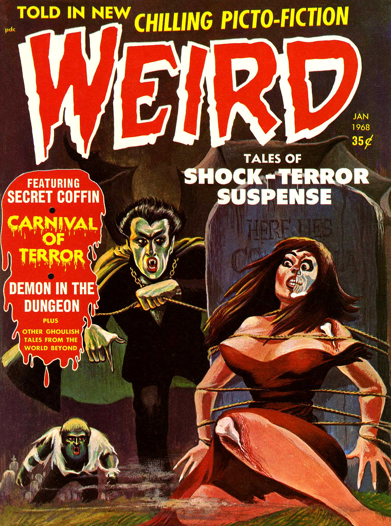 Weird Vol. 02 #5 (Eerie Publications, 1968)
