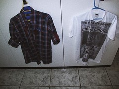 two of my favourites clothes (otaclio neto) Tags: vintage hipster clothes indie