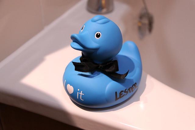 Blue Rubber Duckie