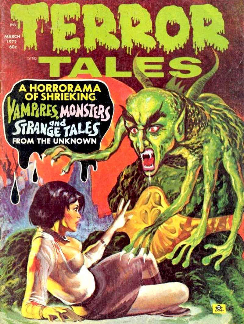 Terror Tales Vol. 04 #2 (Eerie Publications, 1972)