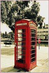 CABINE TELEPHONIQUE ANGLAISE (pitchoun9999) Tags: telephone londres quai cabine verdun