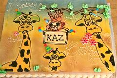 Happy 5th Birthday Kaz!