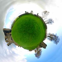 58/365 - Planet Kendal Castle (Richard Berry Photography) Tags: panorama castle nikon 360 polar kendal project365 360panorama richardberry polarpanorama kendalcastle planetpanorama d7000 kendalcastlepanorama