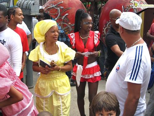 African Dancers of Callejon de Hamel, Habana Cuba