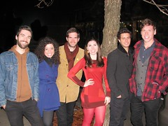 Sarah Elizabeth Foster and Band after the Cambridge, MA Gig