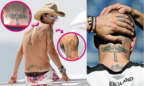 tatuajes-Beckham-espalda-y-cuello