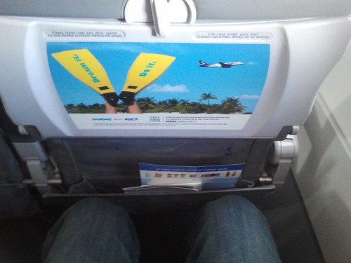 Spirit Seatback Ad