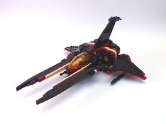 SD-10 Valarauko (peterlmorris) Tags: game toy star video mod fighter lego vic viper konami starfighter quenya gradius vicviper foitsop insindarinthebalrog