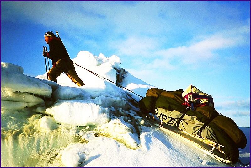 Pressure ridge - Svalbard - Vaughan Purvis
