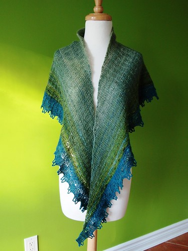 handspun Buttonwillow wrap II