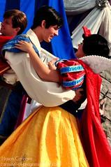 Snow White and The Prince - Dream Along With Mickey (Carousel-of-Progress) Tags: show party goofy orlando florida character peterpan disney queue mickeymouse cinderella minniemouse waltdisneyworld wendy snowwhite donaldduck sleepingbeauty magickingdom smee captainhook maleficent disneypark dreamalongwithmickey facecharacter furcharacter