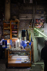 Outside Ghahve Khane in Bazaar (kamshots) Tags: shop stall bazaar seller khane ghahve