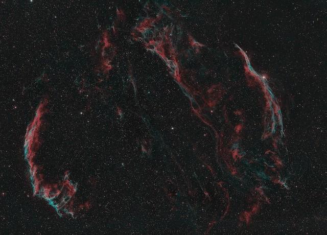 Mosaico Velos (Ha,OIII,OIII)