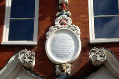 Photo of White plaque number 8516