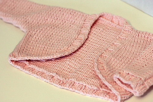 Knitting Pattern Baby Bolero Cardigan : Maile Sweater and My Baby Brain Domesticated Human Maile Sweater and My Bab...