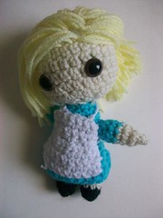 Alice in Etsyland (Mooy) Tags: cute doll alice crochet disney plush kawaii etsy wonderland mooeyandfriends
