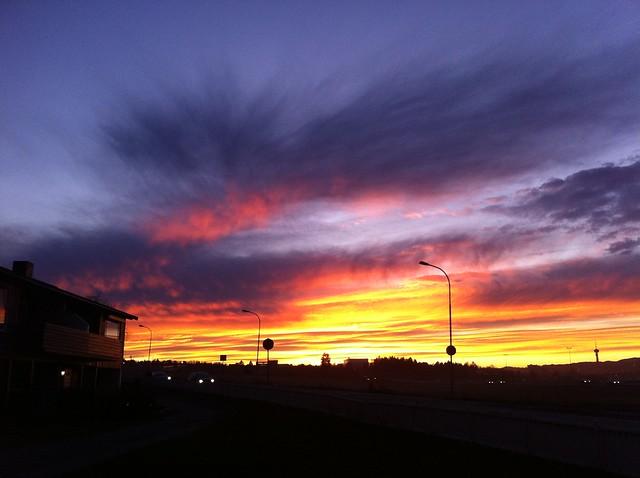november-himmel