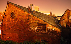 Gold Peg BC (delete08) Tags: street urban streetart london graffiti delete